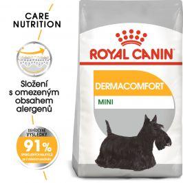 Royal Canin Mini Dermacomfort - granule pro malé psy s problémy s kůží - 1kg