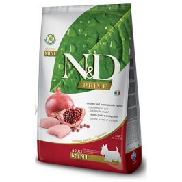 N&D dog GF ADULT MINI CHICKEN/POMEGRANATE - 7kg