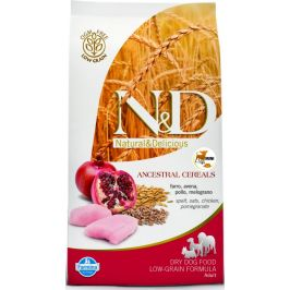 N&D dog LG ADULT MEDIUM/MAXI CHICKEN/POMEGRANATE - 2,5kg