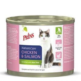 PRINS cat konz. CHICKEN/salmon - 200g