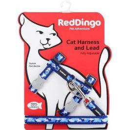 Postroj RD cat s vodítkem CAMOUFLAGE - NAVY