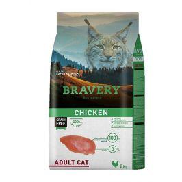 BRAVERY cat  ADULT chicken - 2 kg