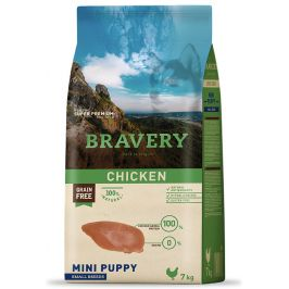 BRAVERY dog PUPPY mini CHICKEN - 400g