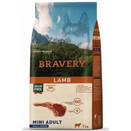 BRAVERY dog ADULT mini LAMB - 2 x 7kg