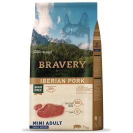 BRAVERY dog ADULT mini IBERIAN PORK - 7kg