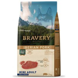 BRAVERY dog ADULT mini IBERIAN PORK - 2 x 7kg