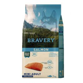 BRAVERY dog ADULT mini SALMON - 2 x 7kg