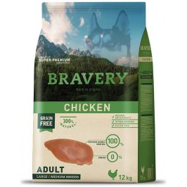 BRAVERY dog ADULT large/medium CHICKEN - 2 x 12kg