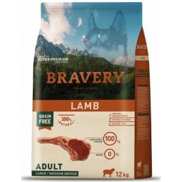 BRAVERY dog ADULT large/medium LAMB - 4kg