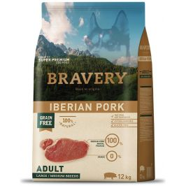 BRAVERY dog ADULT large/medium IBERIAN PORK - 12kg