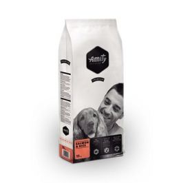 AMITY premium dog SALMON/rice - 2 x 15kg