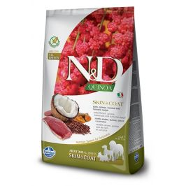 N&D dog GF QUINOA skin/coat DUCK/COCONUT - 800g