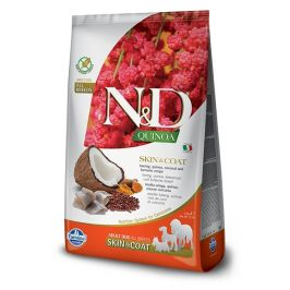 N&D dog GF QUINOA skin/coat HERRING/COCONUT - 800g