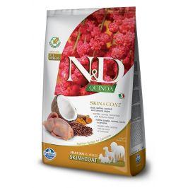 N&D dog GF QUINOA skin/coat QUAIL/COCONUT - 2,5kg