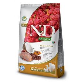 N&D dog GF QUINOA skin/coat QUAIL/COCONUT - 7kg