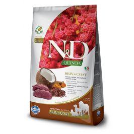 N&D dog GF QUINOA skin/coat VENISION/COCONUT - 7kg
