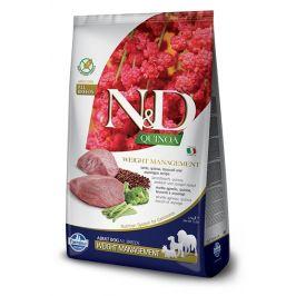 N&D dog GF QUINOA weight management LAMB/BROCCOLI - 7kg