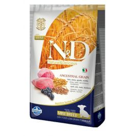 N&D dog LG PUPPY MINI LAMB/BLUEBERRY - 7kg