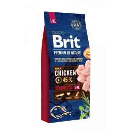BRIT dog Premium By Nature SENIOR L+XL - 3kg