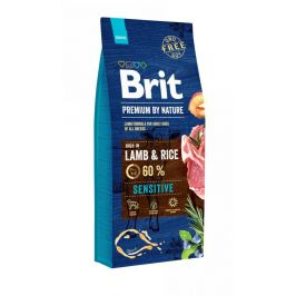 BRIT dog Premium By Nature SENSITIVE LAMB & RICE - 15kg