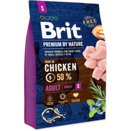 BRIT dog Premium By Nature ADULT S - 2 x 8kg