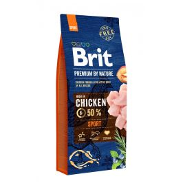 BRIT dog Premium By Nature SPORT - 2 x 15kg