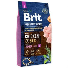 BRIT dog Premium by Nature JUNIOR S - 3kg