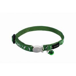Obojek RD  cat CIRCADELIC green - 1,2/20-32cm