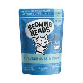 Meowing Heads  kapsa  SURF & turf - 2x100g