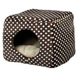 Pelíšek KUKAŇ MINA hnědo-béžový - 40x32x40cm
