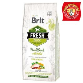BRIT FRESH ADULT RUN and WORK duck/millet - 2,5kg