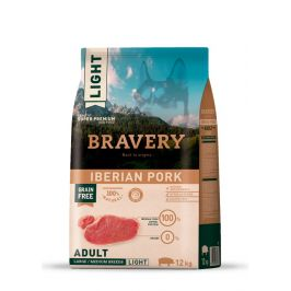 BRAVERY dog LIGHT large/medium PORK - 12kg