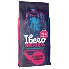 Ibero NATURAL dog MEDIUM JUNIOR - 2kg
