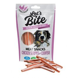 BRIT let's meat snacks CHICKEN stripes/codfish - 80g