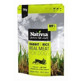 NATIVIA dog REAL MEAT rabbit - 8kg