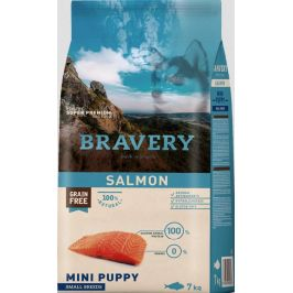 BRAVERY dog PUPPY mini SALMON - 2kg