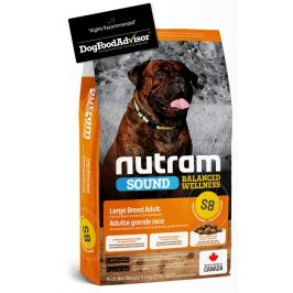 NUTRAM dog   S8 -  ADULT  LARGE  - 11,4kg