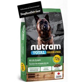 NUTRAM dog T26 - TOTAL GF  LAMB/lentils  - 11,4kg