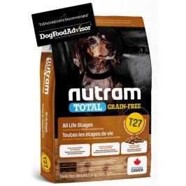 NUTRAM dog T27 - TOTAL GF SMALL chicken/turkey  - 2kg