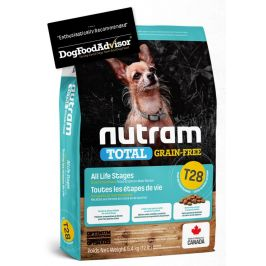 NUTRAM dog T28 - TOTAL GF SMALL salmon/trout - 5,4kg