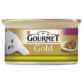 GOURMET GOLD  duo KRÁLÍK/JÁTRA   - 85g