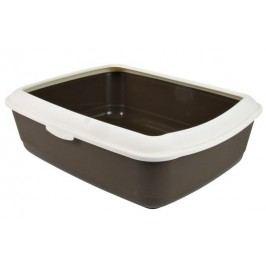 WC  CLASSIC ( s okrajem ) 37*15*47cm - Hnědé