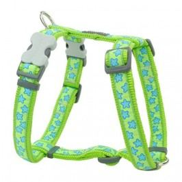 Postroj RD star LIME GREEN  - 12mm/30-44cm