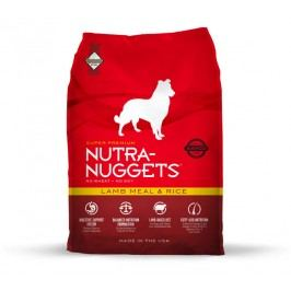 NUTRA NUGGETS Lamb/rice                       - 15kg
