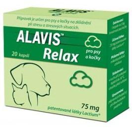 ALAVIS RELAX  pro psy a kočky                     - 40cps./75mg