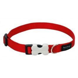 Obojek RD jednobarevný červený          - 1,2/20-32cm