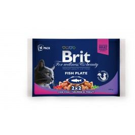 BRIT cat   kapsa  4x100g                   - Rybí menu