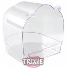 Trixie Koupelna hranatá, celoprůsvitná 13x15x14cm