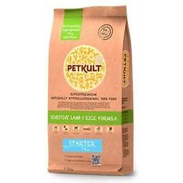 PETKULT   dog     STARTER lamb/rice  - 2kg  - náhradní balení (s prebiotiky)