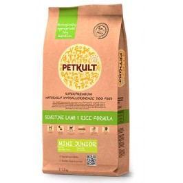 PETKULT   dog    MINI  JUNIOR  lamb/rice  - 2kg  - náhradní balení (s prebiotiky)